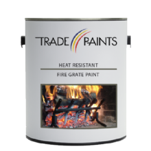 Heat Resistant Fire Grate Paint